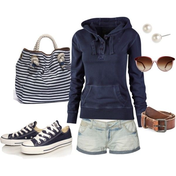 """""""Comfortable in Navy"""" by sapple324 on Polyvore"""