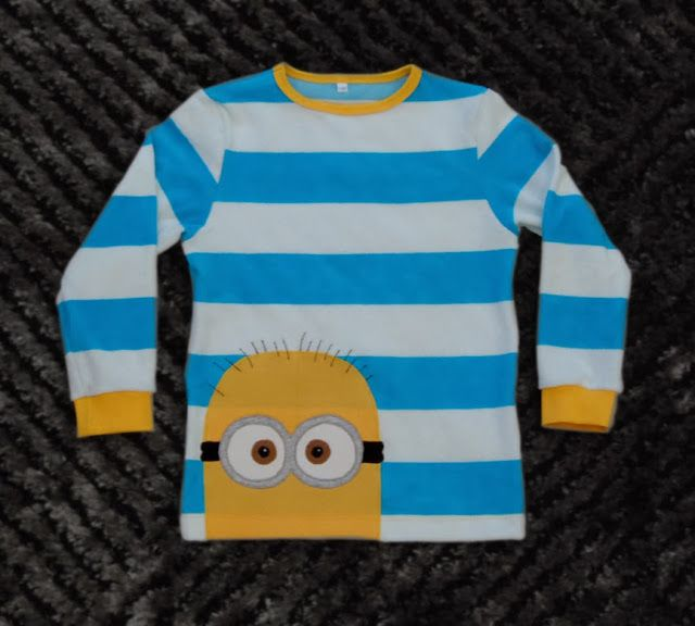 Minion applique idea