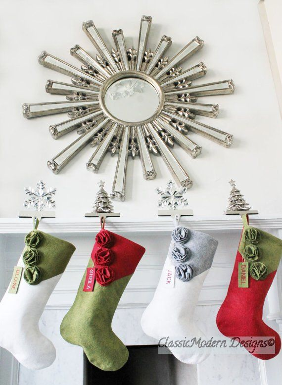 NapadyNavody.sk   16 nápadov na vianočné ponožky - vianočná výzdoba