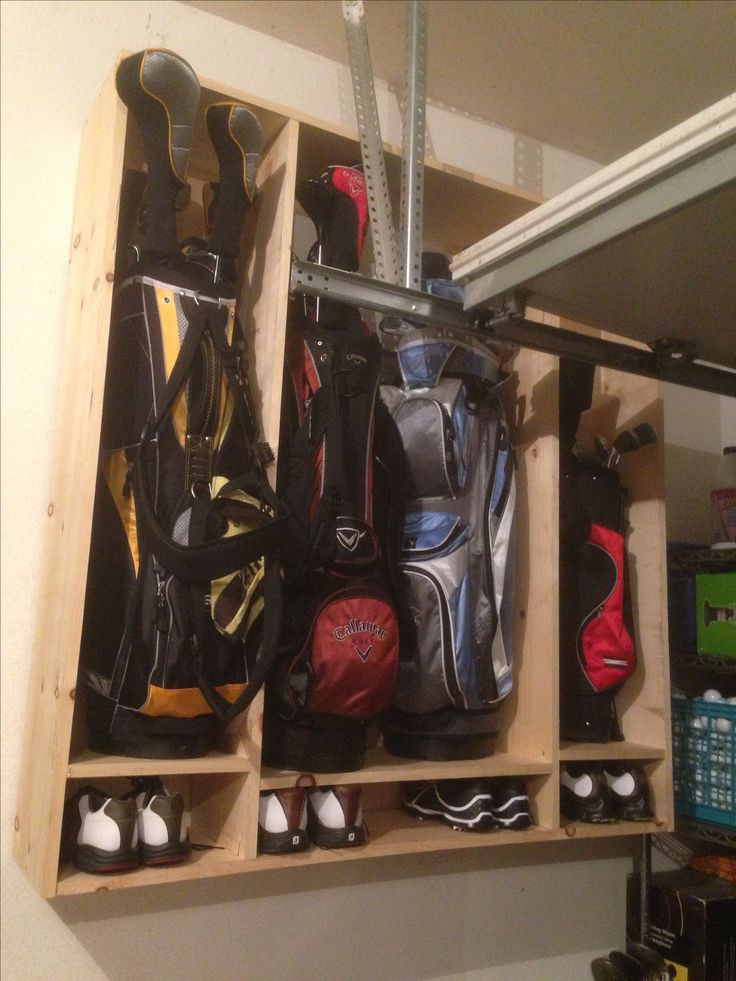 Golf Club and Shoe Locker. Couple hours to make for around $40!