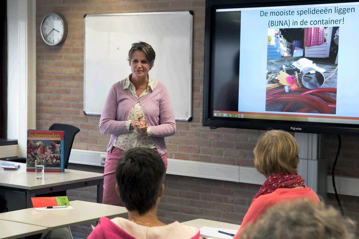 www.kommee.com | Buitenspelen | Congres 'Kleuters in Beweging' in Sportcentrum Landstede, Zwolle