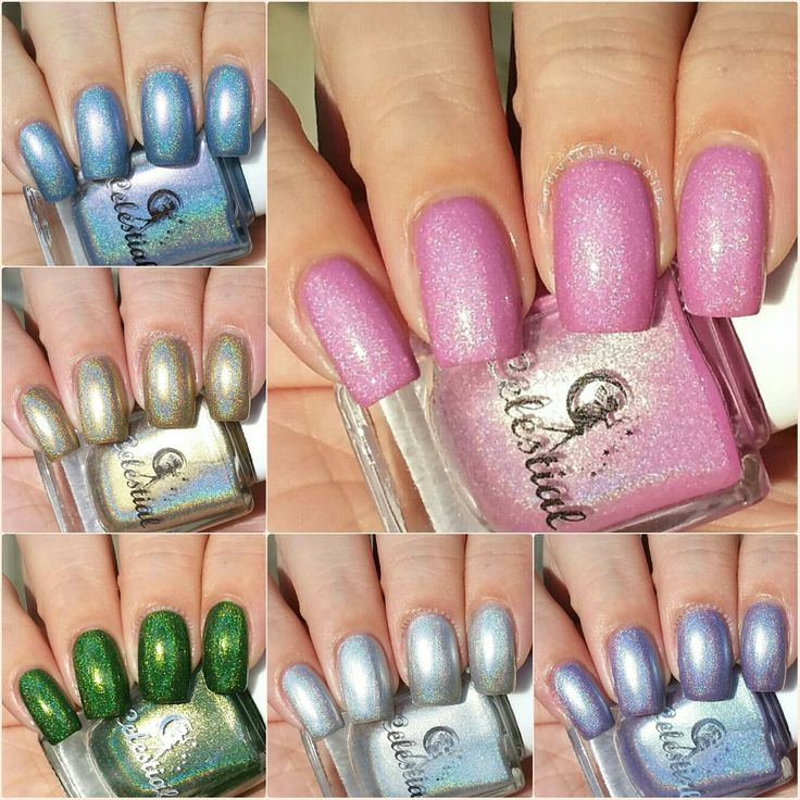 Celestial Cosmetics Rainbows & Unicorns Collection Plus March COTM - Swatches & Review by Olivia Jade Nails
