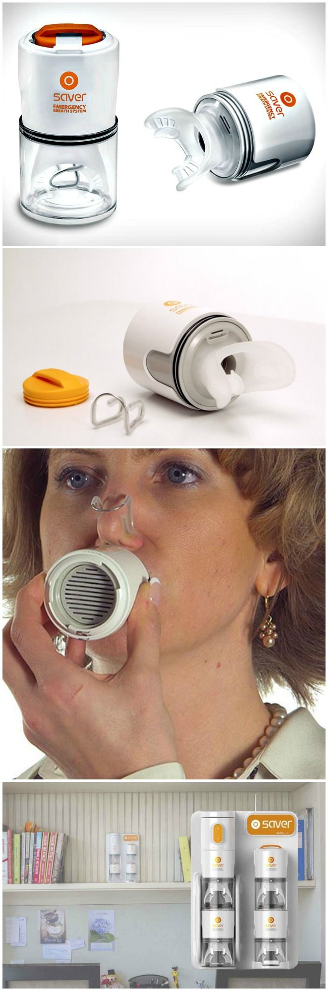 Saver emergency breath system.