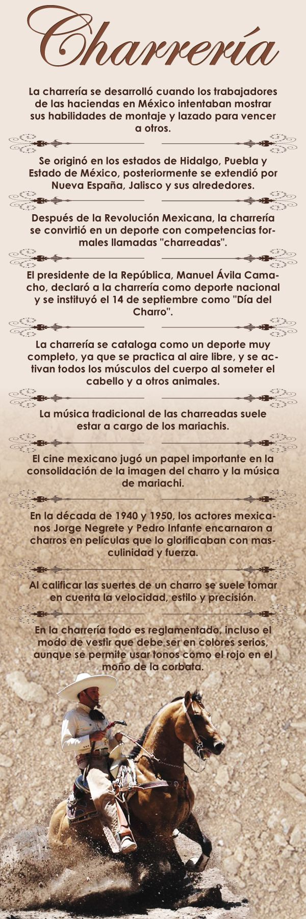 Charreria Mexicana/Deporte Nacional.