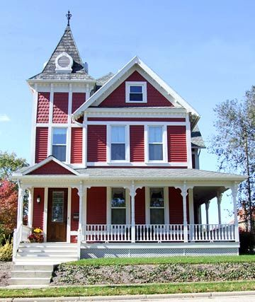 76 best victorian porches images on pinterest victorian for Front porch add ons