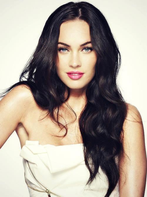 Simply gorgeous with minimal make up - Megan Fox