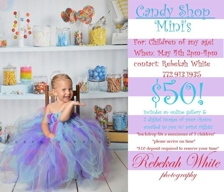 Candy shop mini sessions rebekah white photography themed mini session for kids