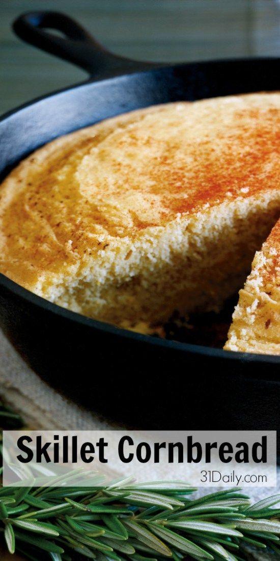 25+ bästa idéerna om Skillet cornbread på Pinterest