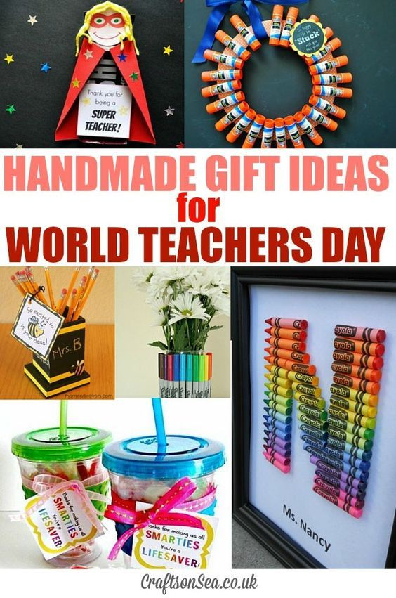 Teacher Appreciation Gifts Kids Can Make - Crafts on Sea