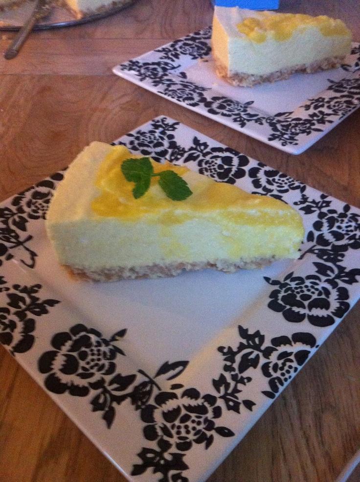 God mad og søde sager: Mango-Cheesecake med kokos