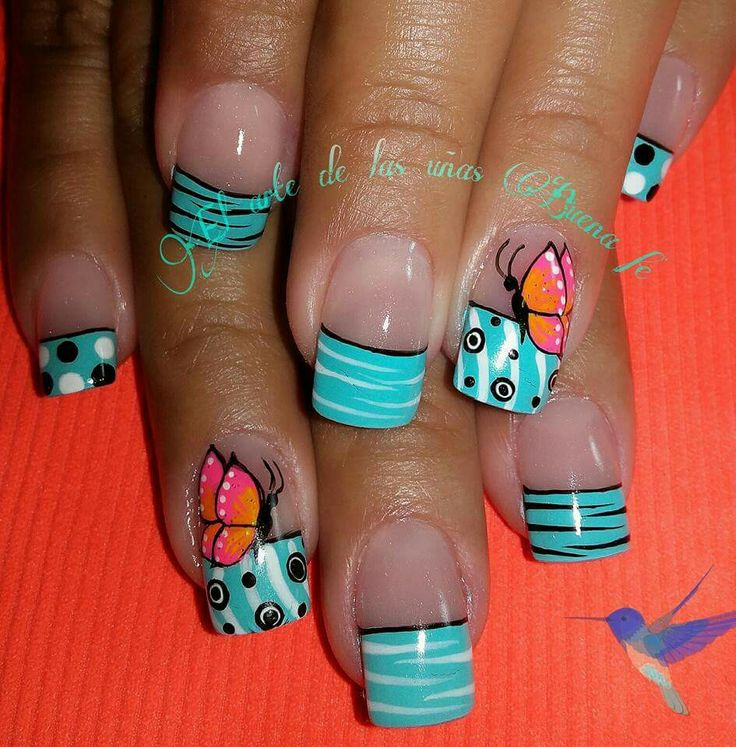 Best 25 dise os de u as mariposas ideas on pinterest - Disenos de unas pintadas ...