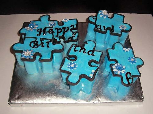 Puzzle Cake by Rozziel, via Flickr