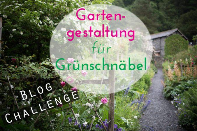 Gartengestaltung für Anfänger, eine Blog Challange: Welche Vorgehensweise schlagt ihr vor, um einen Garten zu gestalten?