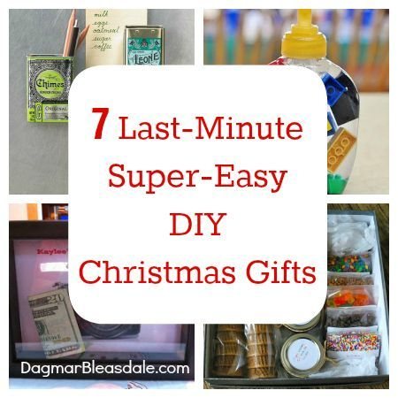 17 best images about christmas countdown on pinterest for Easy last minute christmas gifts to make