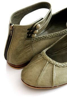 Wish they weren't real leather!  MUSE Leather women shoes / ballet flats / sizes 3543 by BaliELF, $90.00
