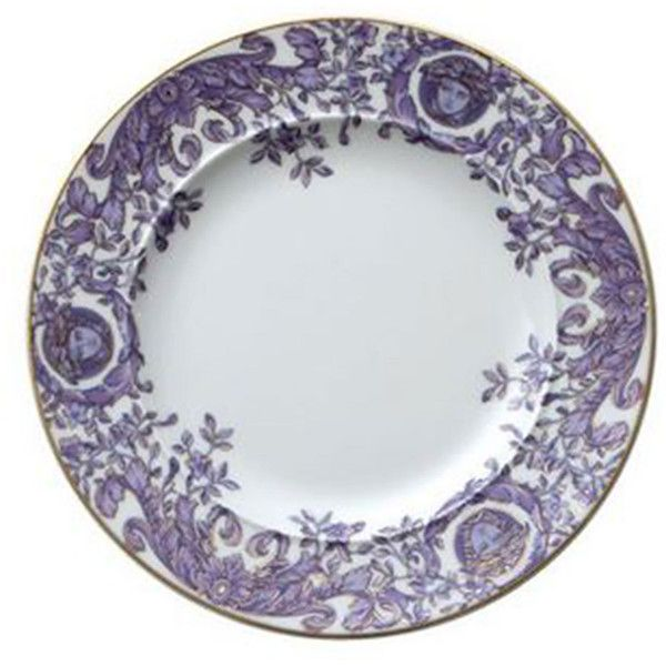 Versace Le Grand Divertissement Bread Butter Plate 82 Liked On Polyvore Featuring Home Kitchen Dining Dinnerware Versac Transferware Plates Versace