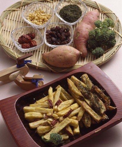Кисло-сладкий жареный картофель (Tang Cu Tudou Si)