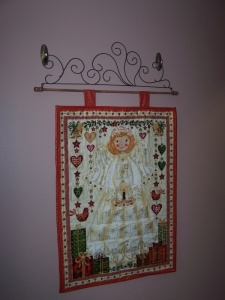 Angel Advent Calendar - The Quilted DogQuilt Dogs, Ornaments Crafty, Angels Advent, Quilt Awesome, Advent Calendar, Christmas Ornaments