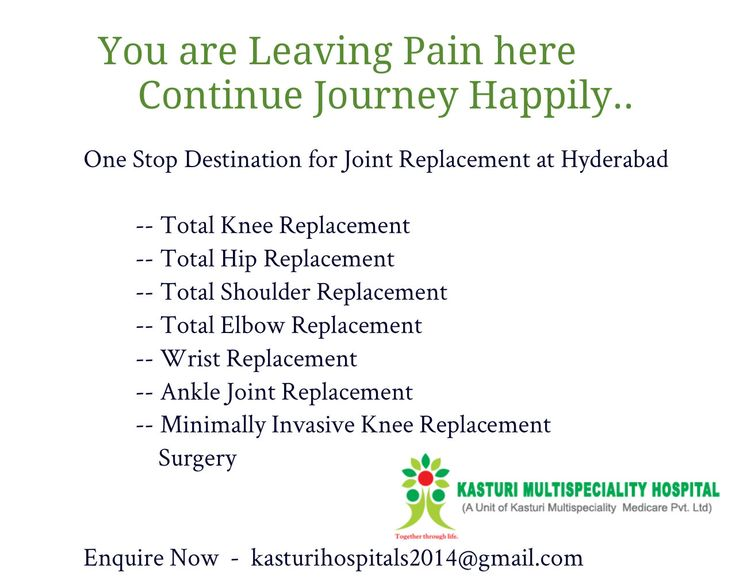 Live life without Joint Pain...One Stop Destination for all Orthopedic Treatments. Enquire us kasturihospitals2014@gmail.com