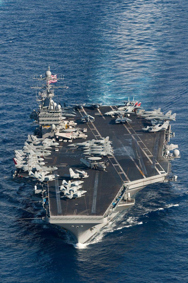 Carrier strike group on Pinterest | Aircraft carrier, Uss ...