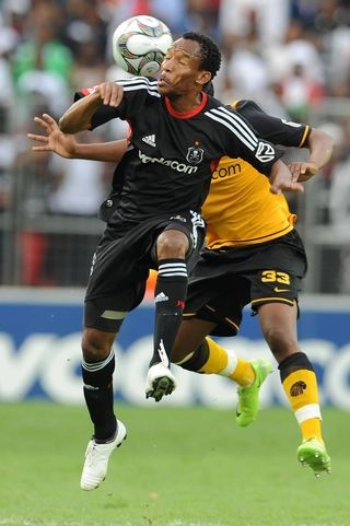 The two rivals head to head. Orlando Pirates vs Kaizer Chiefs
