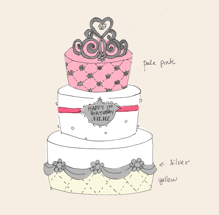 115 best images about Cake sketch on Pinterest Cake ...