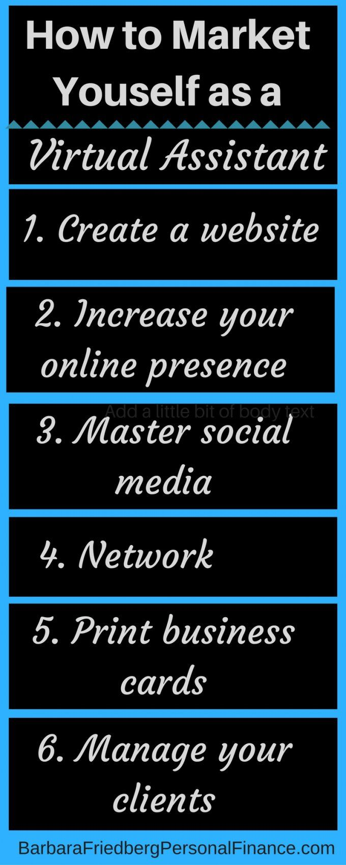 You can build a viable #business as a virtual assistant with a little elbow grease. Get top notch #marketing tips. #entrepreur #make #money #virtualassistant. This is a comprehensive, #howto series into the #VA business.