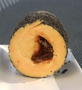 foie gras aux figues et pavot bleu de Mercotte