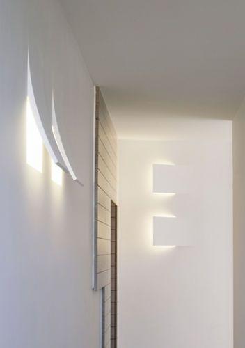 Applique da parete moderna (da incasso) ALVALINE: LA DODÒ by Domenico De Palo Viabizzuno