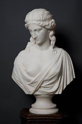 Chauncey B. Ives, Ariadne, 1857, Marble, Private collection