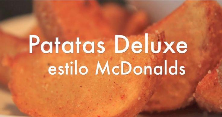 Patatas Deluxe estilo McDonalds - Papas Gajo - Recetas de cocina - https://www.youtube.com/watch?v=TVNh5JqHS6s