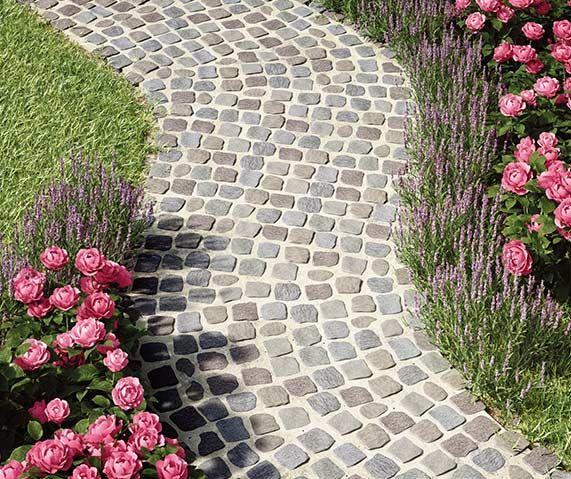 Gartenweg Anlegen Einfahrt Pflastern Garten Gartenweg Garten Pflaster