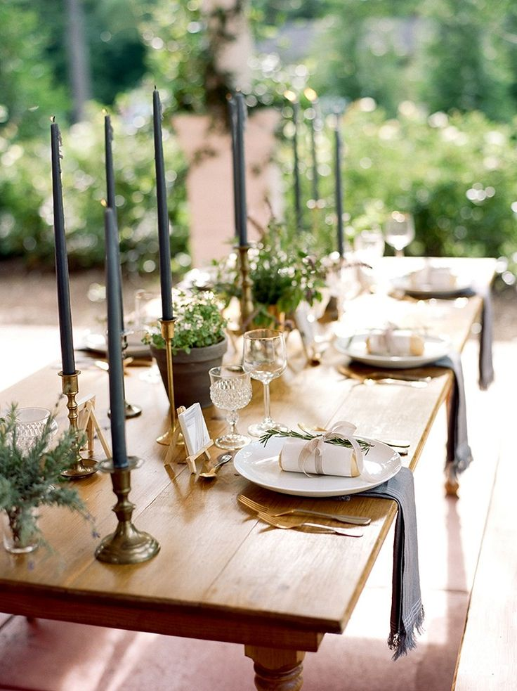 Hosting your first dinner party as newlyweds by Amy Rae Photography | Wedding Sparrow