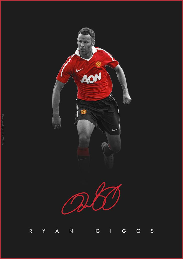 #PremierLeague @PremierLeague Legends on Behance - Ryan Giggs - @ManUtd  Manchester United
