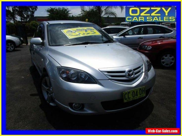 2005 Mazda 3 BK SP23 Silver Automatic 4sp A Hatchback #mazda #3 #forsale #australia