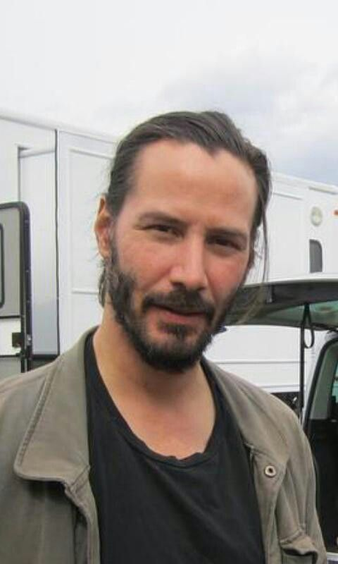 Keanu Reeves on the set of 47 Ronin (2013)