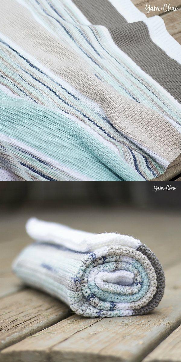 Boardwalk Baby Blanket Free Crochet Pattern | Blankets Free Crochet ...