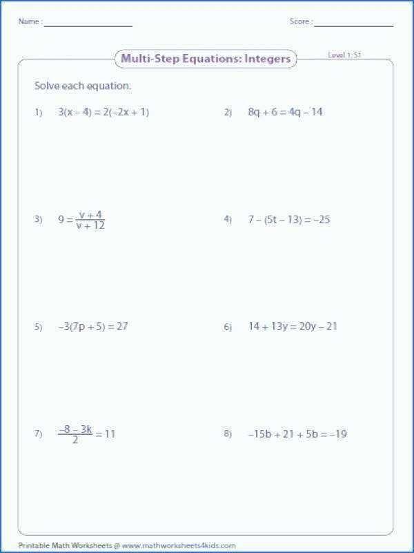 Pin On Algebra Worksheets