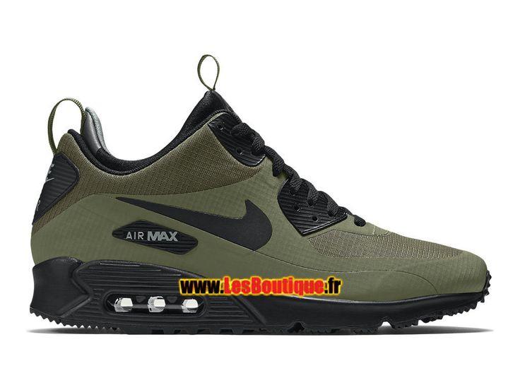Nike Air Max 90 Mid Winter - Chaussures Nike Mi-Montante Sportswear Pas Cher…