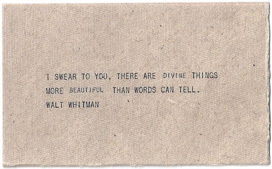 : Waltwhitman, Divine Things, Beautiful, Swear, True Words, Tattoo Quotes, Walt Whitman, Living, Inspiration Quotes