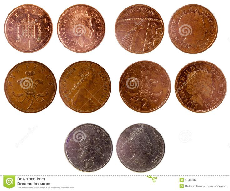 Different Old British Coins - Download From Over 41 Million High Quality Stock Photos, Images, Vectors. Sign up for FREE today. Image: 51980637