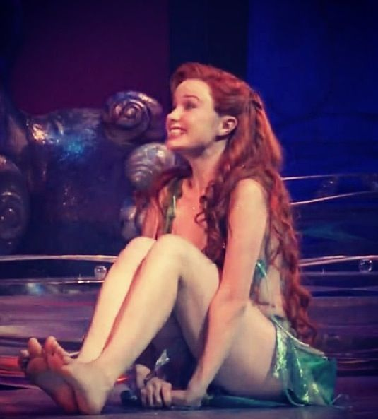 Ariel got legs... And then was on broadway:)