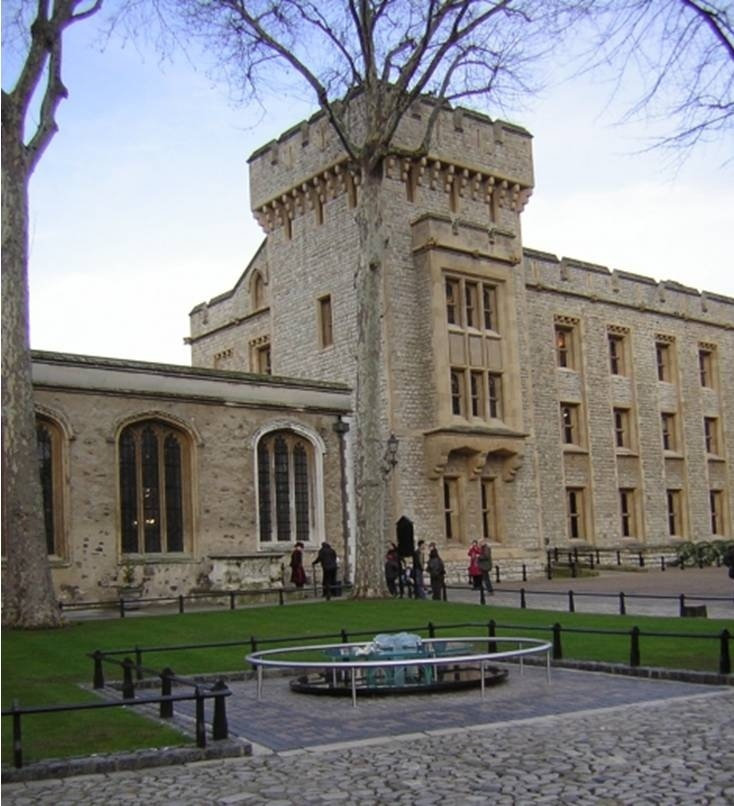 St Peter ad Vincula, Tower of London is the resting place of Anne Boleyn and Catherine Howard to name a few.