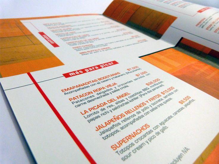 SALTO DEL ÁNGEL   El tradicional restaurante San Angel, en Bogotá cambió de locación y decidió reestructurar toda su imagen. Para ellos realizamos el nuevo logotipo, el menú de lanzamiento y la señalética del local.