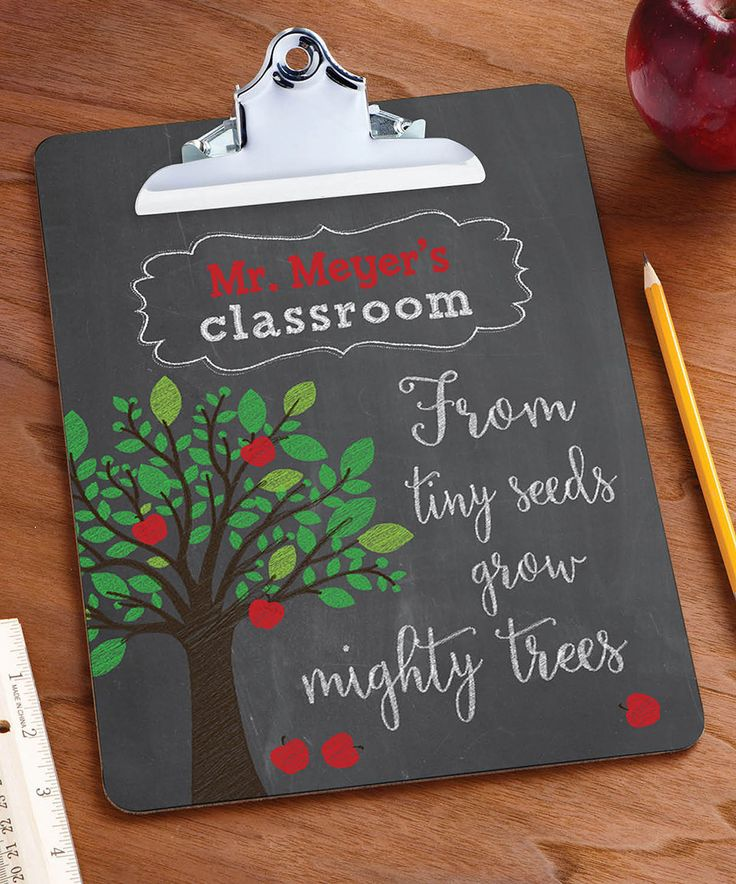 Another great find on #zulily! 'From Tiny Seeds' Personalized Clipboard by Personalized Planet #zulilyfinds