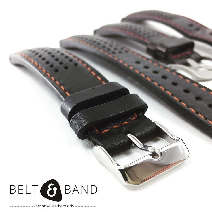 A padded rally strap with perforations is a great way to give your Omega an appealing sporty update. #beltandband #strapsmith #leather #bespoke  #bespokeleather #bespokestraps #leatherwork #watchesofinstagram #wwatches #strapaddict #strapmaker #handmadejewelry #handmadegoods #addictedtoleather #black #watchstrap #wristshot #wriststrap #customorder #blog