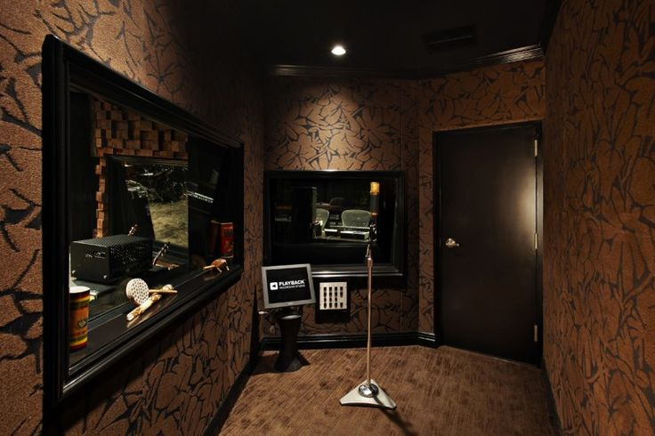 """he 200 square foot 'Dead' isolation chamber rids the recording environment of natural reverberations. The room is surrounded by sound tested fabrics that remove the unwanted frequencies and creates a """"tight"""" sound in the recording."""
