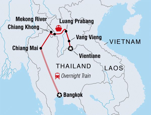 Thailand & Laos Adventure overview | Thailand & Laos Adventure