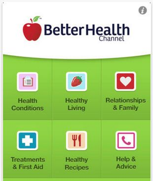 Better Health Channel (Free) https://itunes.apple.com/au/app/better-health-channel-health/id463383478