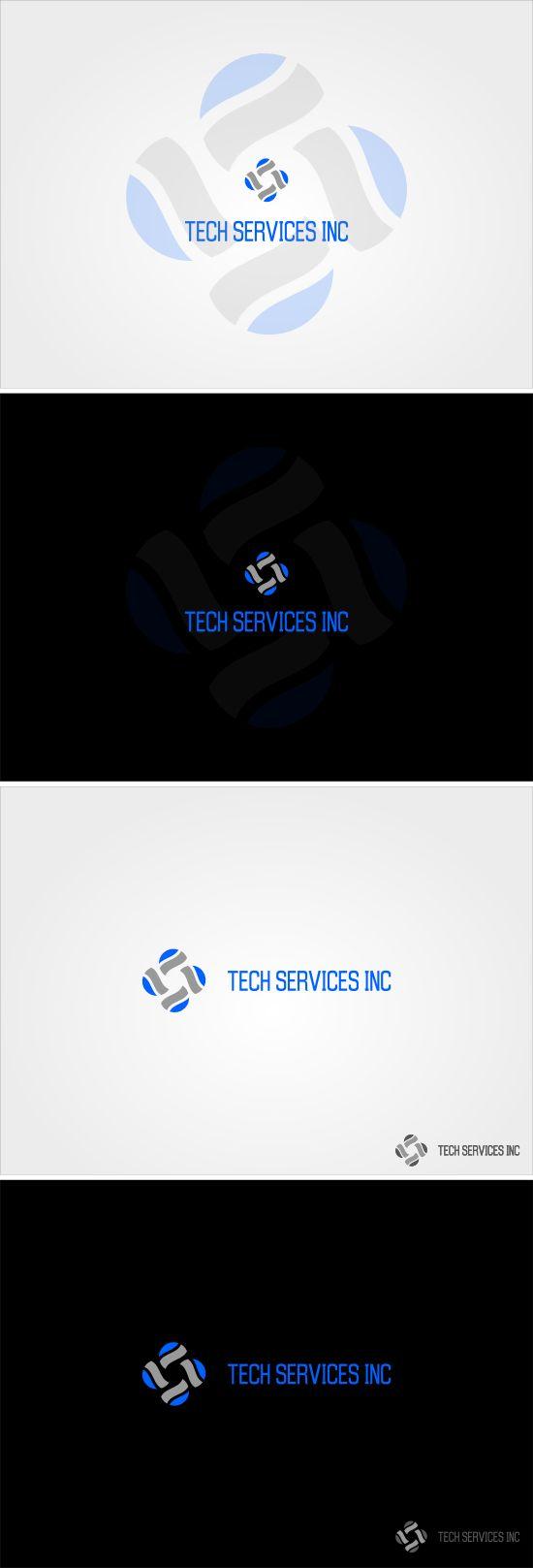 Tech Services Inc by Risman Widiantoro, via Behance